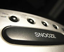 Snooze is of the devil